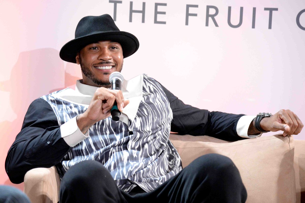 Source from T.S.M: SOURCE SPORTS: Carmelo Anthony Leads List of Five Finalist for Inaugural Kareem Abdul-Jabbar Social Justice Champion Award https://t.co/J3R3Q6x48W via @TheSource https://t.co/sOCdc3rEtr