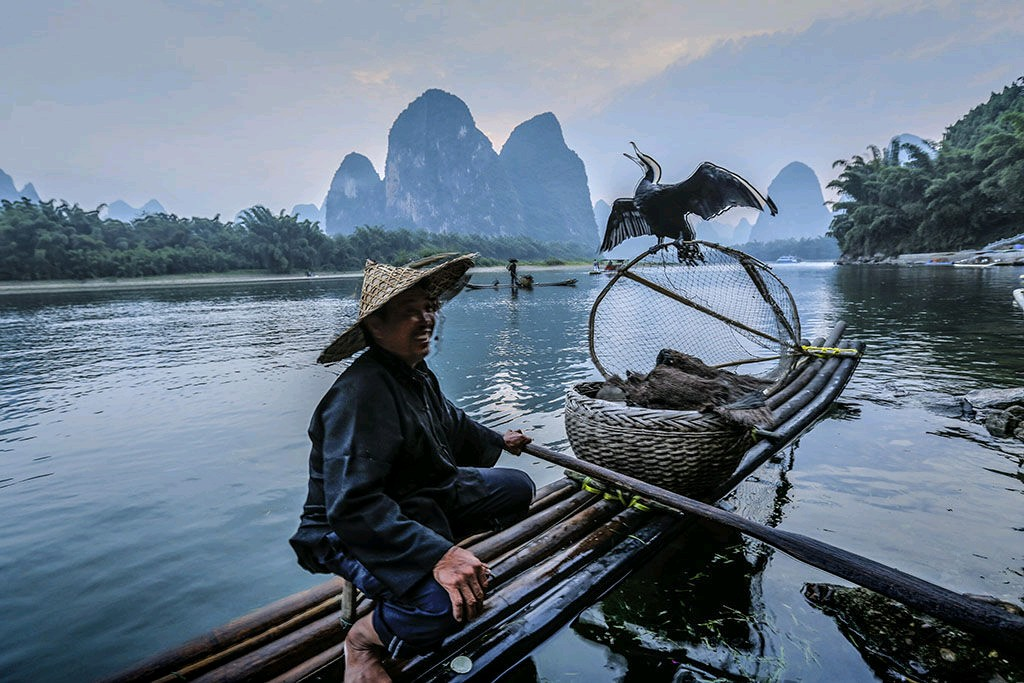 Still one of my most favourite places in China! 🛶🎣🕊️ #maritime #ethnoarch #CormorantFishermen