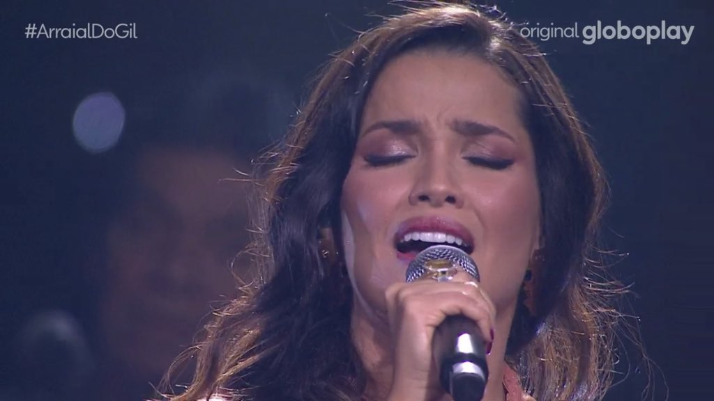 Juliette chegou na live do Gil! Super nervosa cantando Estrela lindamente   ARRAIAL GIL E JULIETTE https://t.co/VEUAyNYYR8