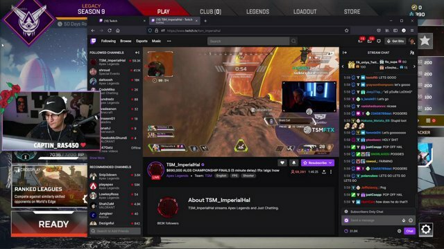 ohzukos is streaming #Apex Legends live on #Twitch   https://t.co/V93XfAqRQ3   #TwitchTV  #GuildedPartner  #GetGuilded https://t.co/JCCqEA8JvZ