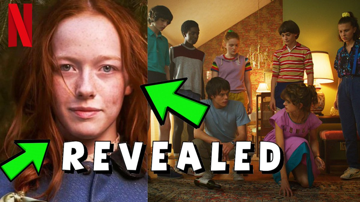 NEW CHARACTER REVEALED IN STRANGER THINGS SEASON 4!! Check it out on my Youtube Channel!! LINK IN BIO!! #strangerthings #strangerthings4 #strangerthingsseason4 #st4 #amybethmcnulty https://t.co/sgDLUyvQES