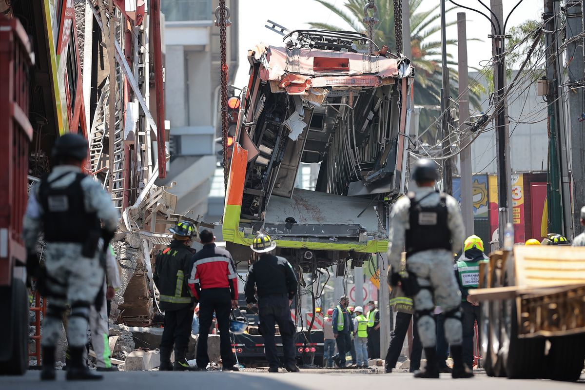 test Twitter Media - The collapse of a section of a Mexico City metro line that killed 26 people was likely due to poor construction by tycoon Carlos Slim's Grupo Carso while foreign minister Marcelo Ebrard was mayor, according to a New York Times investigation https://t.co/WkrgIMGk54 https://t.co/CIXFYWULd3