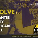 Image for the Tweet beginning: On 6/21 poor people, low-wage