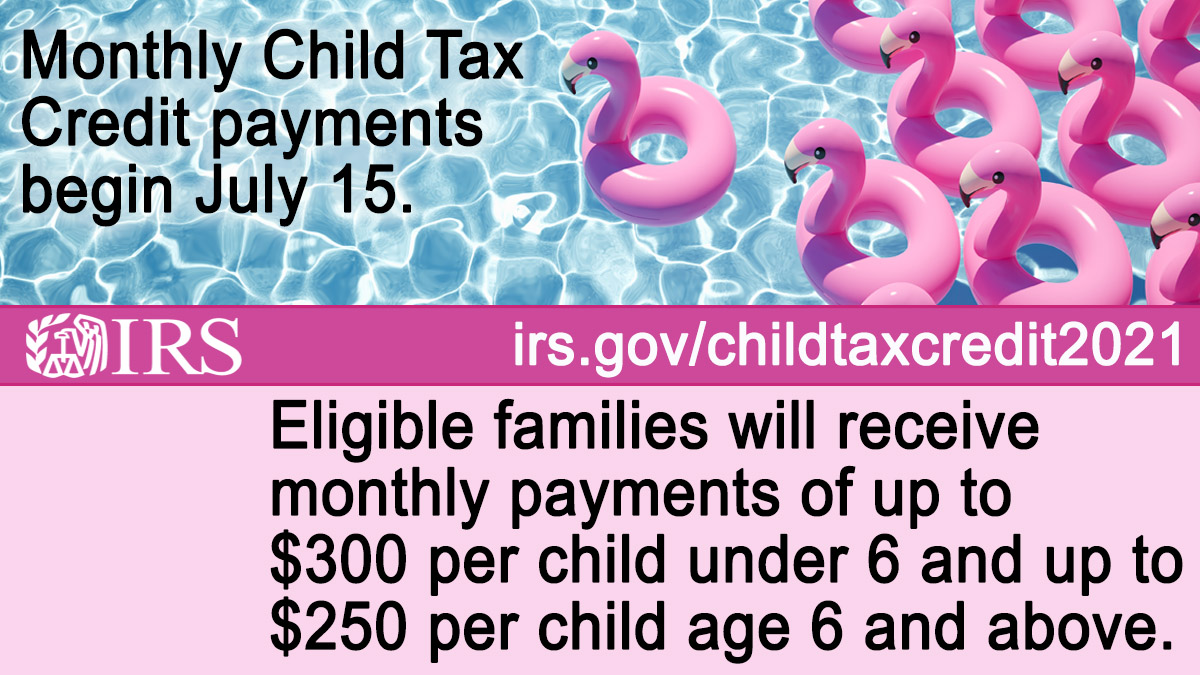 IRSnews: #IRS urges individuals and families who haven't yet filed their 2020 or 2019 tax return to do so as soon as possible so they can receive any advance #ChildTaxCredit payment they're eligible for. Learn more at https://t.co/ZtMo3x3Rhy https://t.co/RmmJjeVdfV