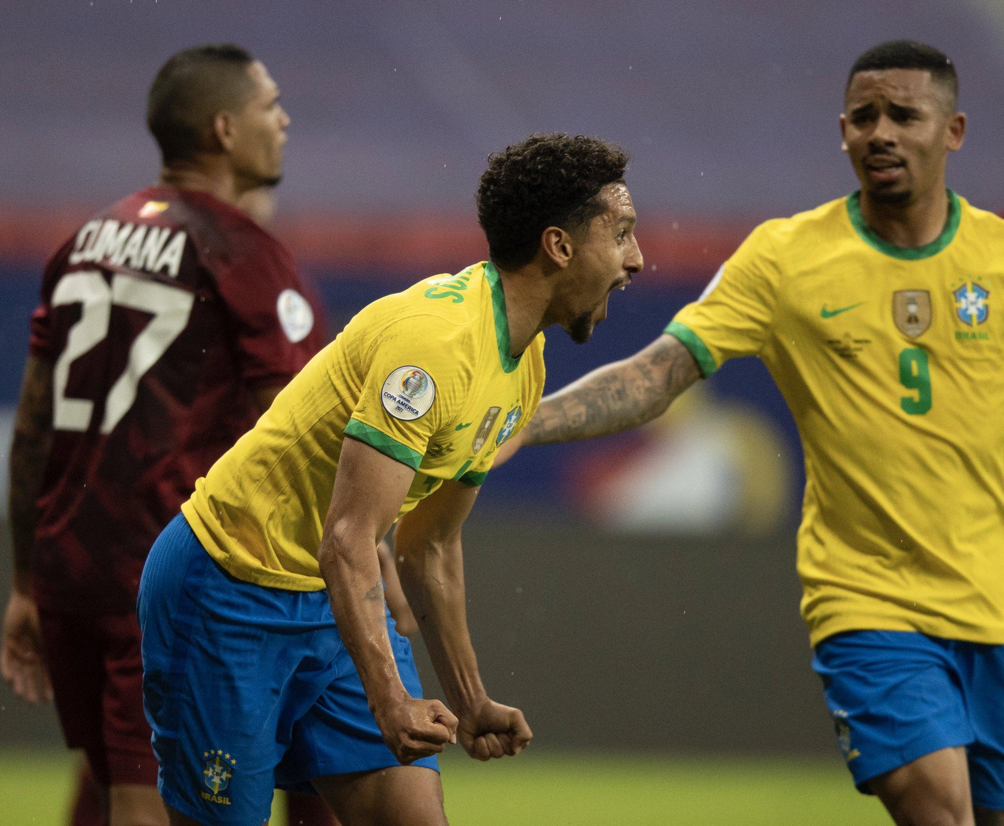 Marquinhos, zagueira da seleção brasileira, está no ranking   Foto: Reprodução/Twitter