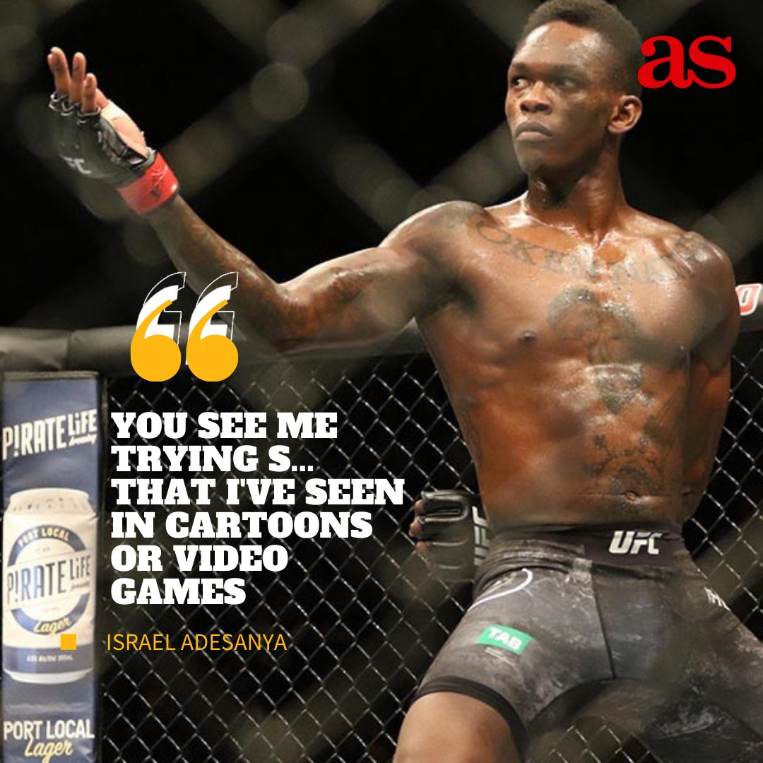 🥊🥊 #IsraelAdesanya was able to retain his UFC Middleweight title when he beat #MarvinVettori this Saturday. He pulled out some of his #Naruto moves! 🥊🥊 https://t.co/0URsaIfxFm