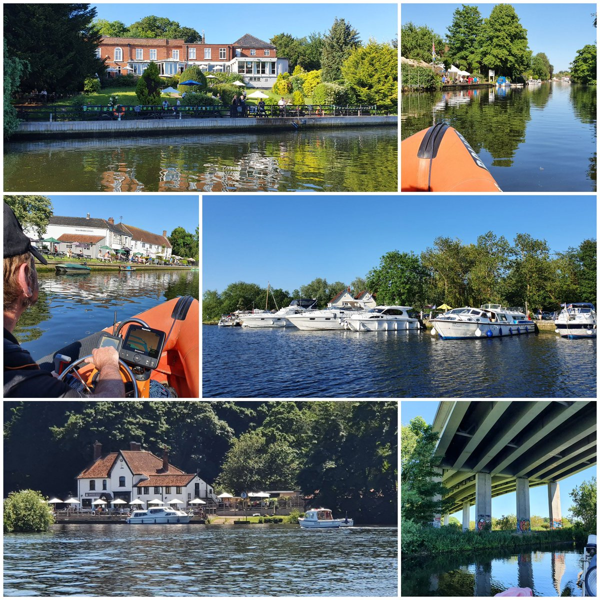 Busy at all pubs we patrolled today for @EURO2020 ⚓👨✈️☀️ @SurlinghamFerry @ChefandBrewer #rushcutters #rivergarden @stonehousepizza #Townhouse @watersedge_nfk @TSA_TownCouncil @NorfolkPolice https://t.co/SK5jJdAZ8I