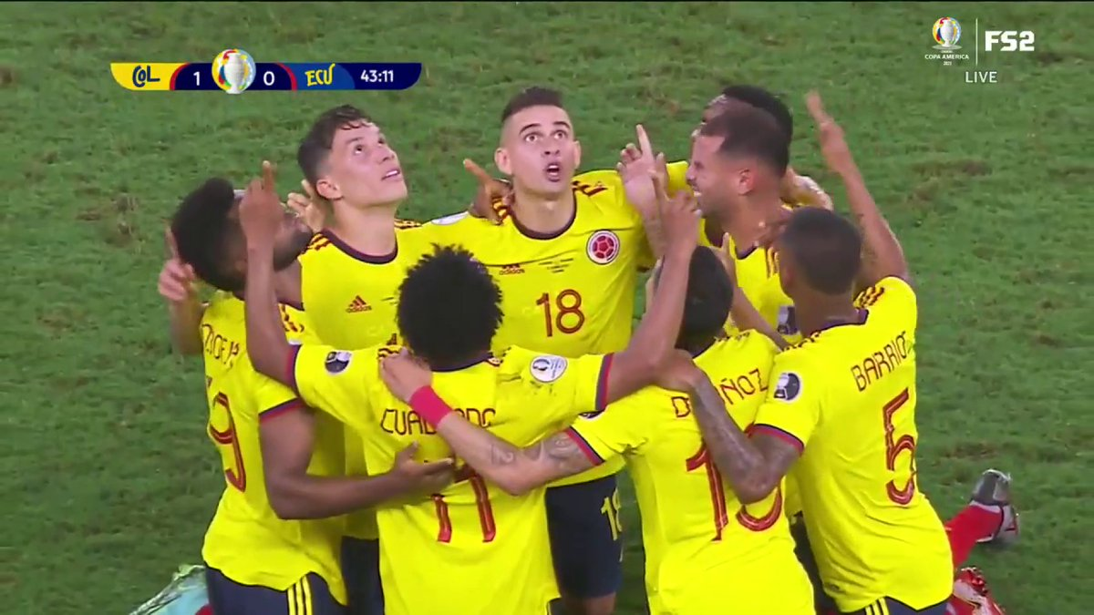 RT @stuholden: This is set piece poetry from Colombia. Wowwww https://t.co/V1j7JWYyvG
