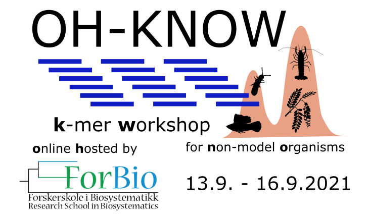 We are filling up quickly! If you have non-model genomic data and would like to know all you can learn and do using k-mers, join us this September! :) 🌿🦑🦗🧬 https://t.co/zKBX5cZcI5