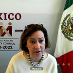 Image for the Tweet beginning: Happening now at #OpenDebateCAAC: @MexOnu
