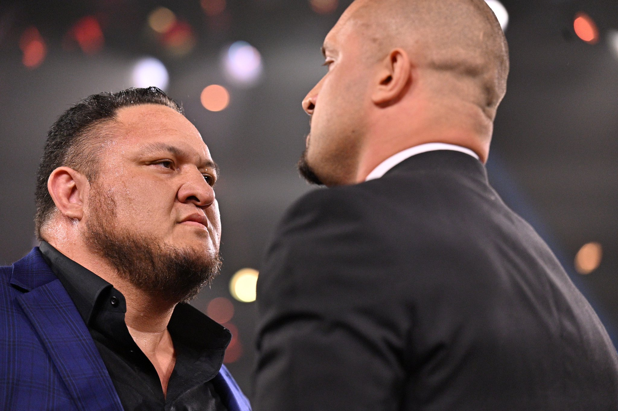 Samoa Joe returning to the ring at NXT TakeOver Photo