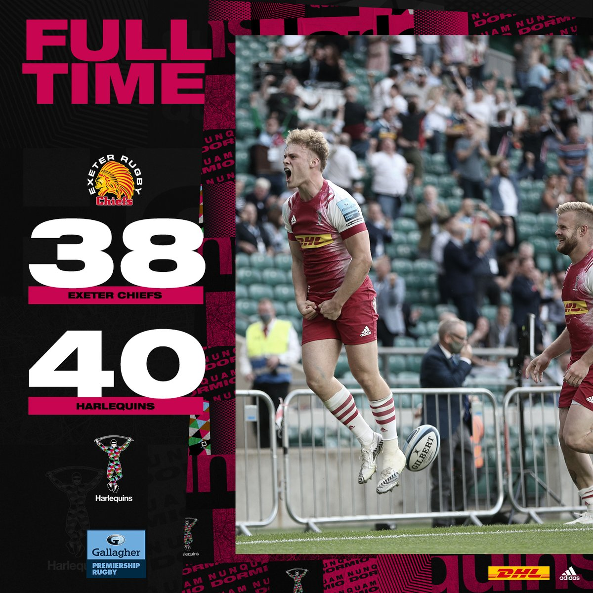 Awesome!! Such an entertaining game and such a brilliant result #coyq