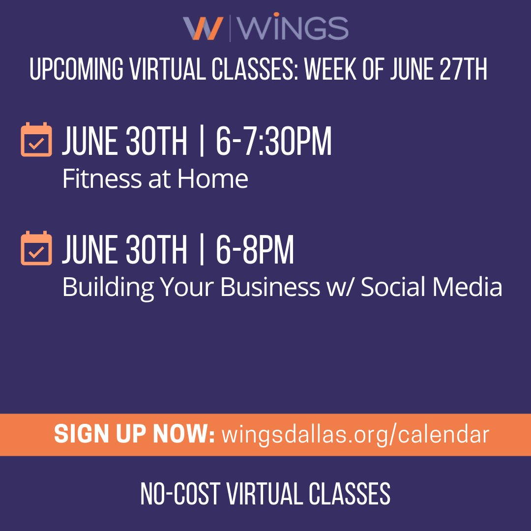 test Twitter Media - This Wednesday we're ending June with a bang! Join us for either Fitness at Home (get moving on a budget!) or learn  how to best utilize social media to give your business a boost. Register at https://t.co/VaAFMOs4HS #freevirtualclasses #virtualeducation #freeonlinetraining https://t.co/tYadfbx3LZ
