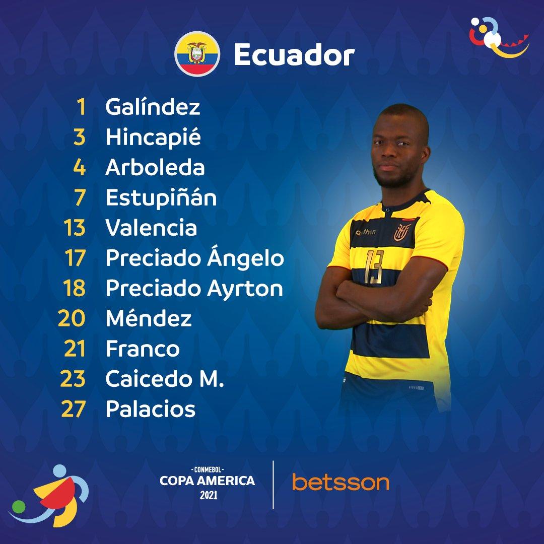 Copa América: Brasil Ecuador