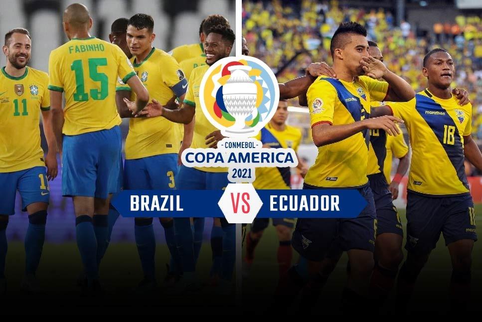 Brazil vs Ecuador Full Match & Highlights 27 June 2021