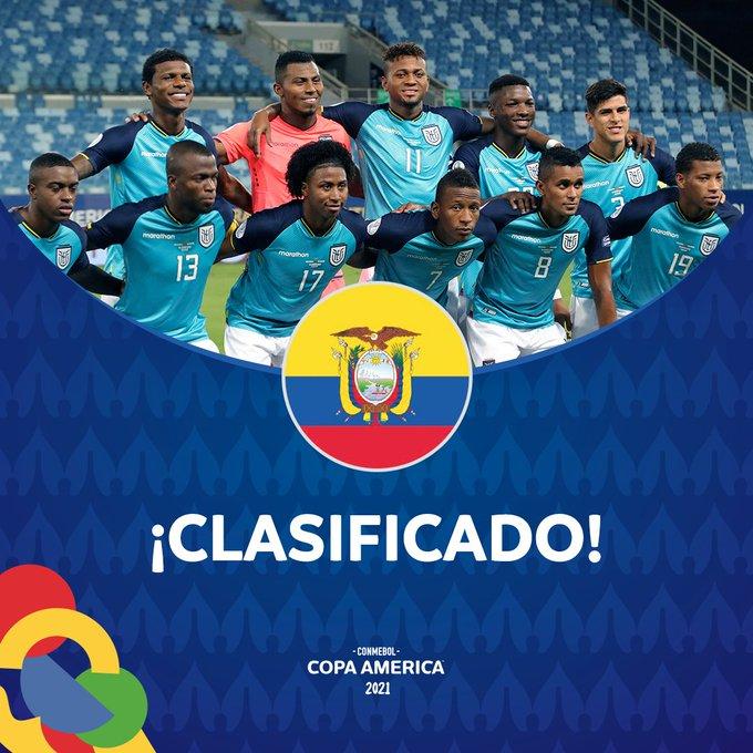 Copa América: Ecuador empató 1-1 con Brasil y pasó a cuartos de final