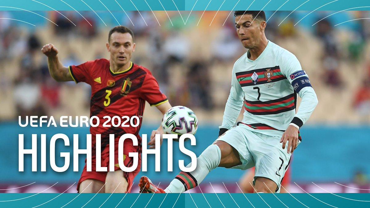 BBC EURO 2020 Highlights - June 27, 2021