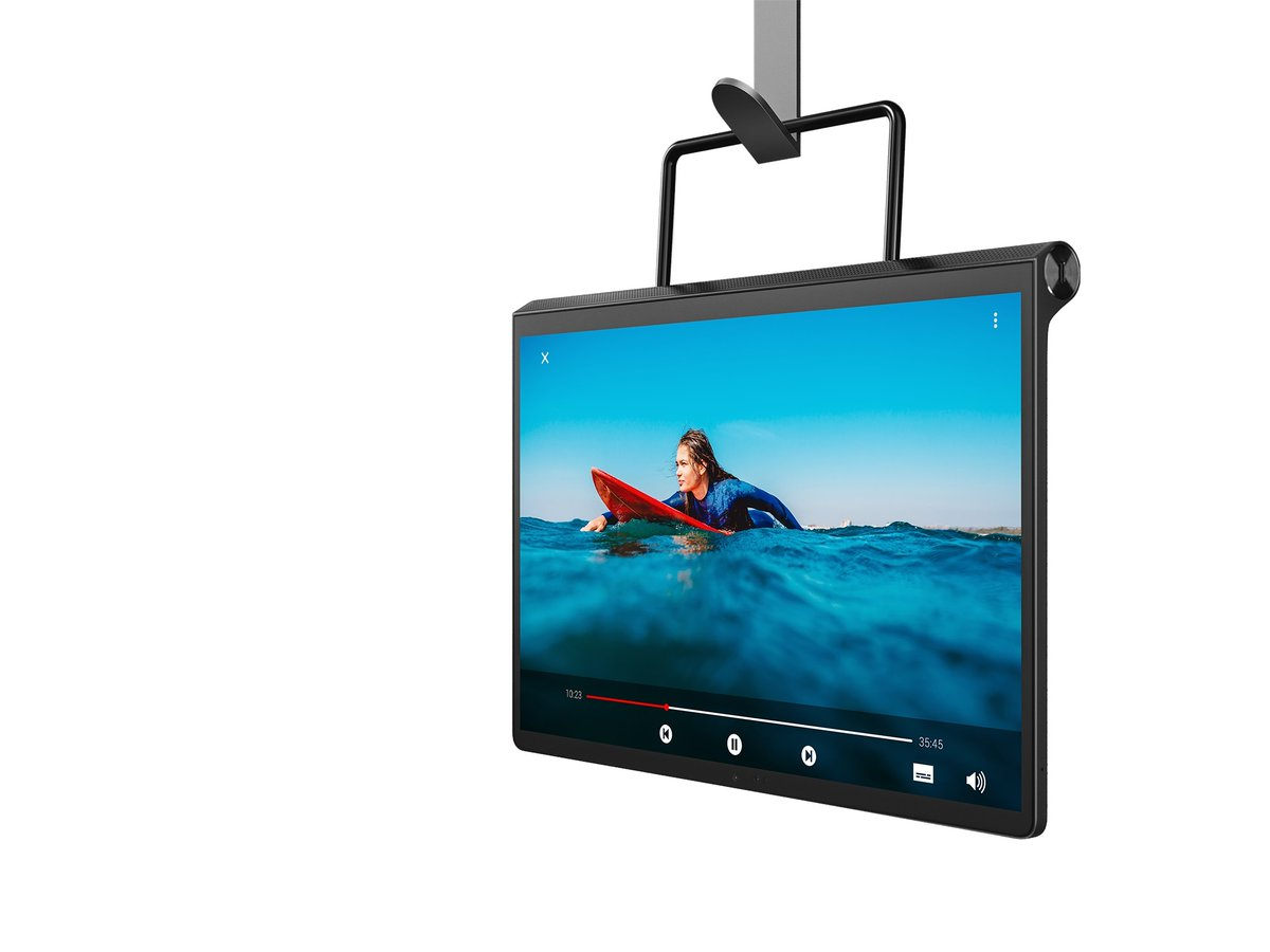 The Morning After: You can hang up Lenovo's new tablet