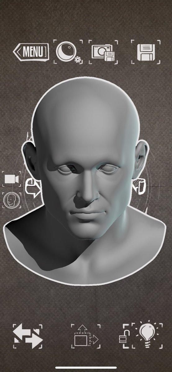 絵描き初心者さんは必見!顔の影の落ち方の参考に便利なこのアプリ!