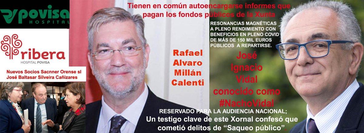 """XornaldeGalicia على تويتر: """"El saqueo en el Sergas a pleno rendimiento con  más de 150 mil euros a repartir ; #TEM_RistoMejide #RistoMejide #TEM  #FeijóoConVox #GaliciaSuma #EspañaSuma #EvoMorales #Bolibia #galiciafeijoo  #feijoogalicia #turismogalicia ..."""