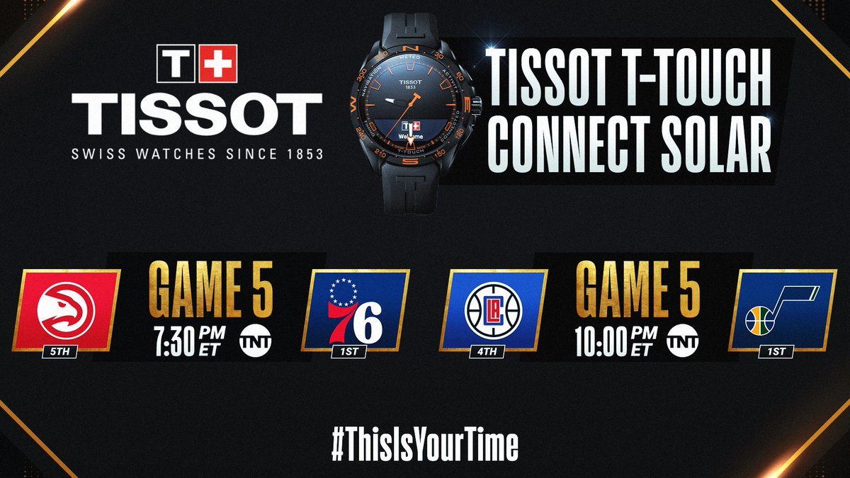The #NBAPlayoffs continue tonight with a doubleheader on TNT! #ThisIsYourTime  🛒 Shop @TISSOT Here: https://t.co/IBgyQ5djCs https://t.co/2fHk5xksX5