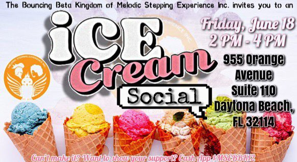 Everyone is #Outside this summer & it's heating up!!! So, on June 18th @ 2 PM we're inviting you to come CHILL 🥶❄️🧊 with us for an Ice Cream Social 🍦💬 • • • Come talk with us & enjoy your favorite flavors and toppings for just $2 for one bowl.  #IceCreamSocial #SweetTreat https://t.co/RclGkzuJ59