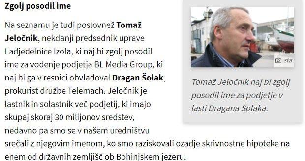 Ups. Veliko dela za Anuško Delić Zavrl in Blaža Zgago.