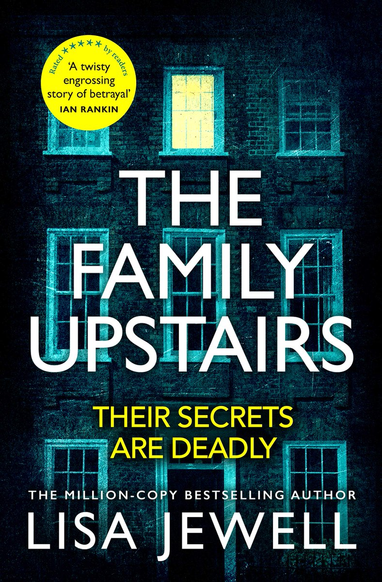 .@lisajewelluk's The Family Upstairs headed to the top of the Bookstat e-book top 10 for the week ending 12th June! See more from the chart here: https://t.co/sOalTRpFVd https://t.co/DtJ9xYYYbr