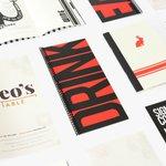 Image for the Tweet beginning: Menu Printing: As more restaurants