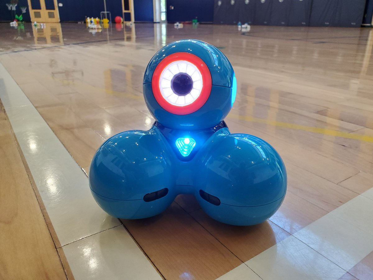The <a target='_blank' href='http://search.twitter.com/search?q=Robot'><a target='_blank' href='https://twitter.com/hashtag/Robot?src=hash'>#Robot</a></a> Gym is ready, with digital friends Dash, Cozmo, Codeapillar, and Ozobot! Our <a target='_blank' href='http://search.twitter.com/search?q=edtech'><a target='_blank' href='https://twitter.com/hashtag/edtech?src=hash'>#edtech</a></a> exploration of robots for <a target='_blank' href='http://search.twitter.com/search?q=FieldDay'><a target='_blank' href='https://twitter.com/hashtag/FieldDay?src=hash'>#FieldDay</a></a> is distanced and disinfected, and sure to be fun! <a target='_blank' href='https://t.co/A0juw3O8Bm'>https://t.co/A0juw3O8Bm</a>