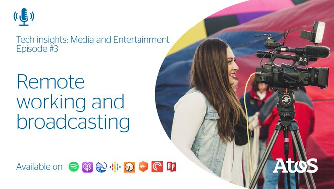 [#AtosMedia] 🎧 In today's world, every business needs the flexibility for its employees...