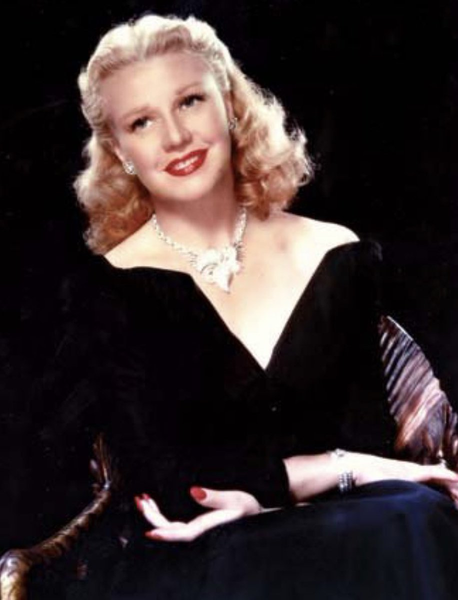 Today in HERstory 1911 – Ginger Rogers was born. She was an actress and dancer, & screen partner of Fred Astaire. In 1941 she won Best Actress Oscar for Kitty Foyle. And of course Ginger always impressed a soul I doing everything Fred did but backwards and in heels! . . #herstory https://t.co/avqjWlxSM8