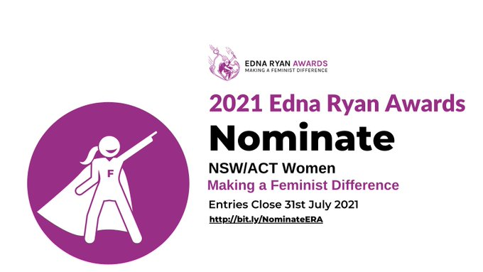 In 1974, Edna Ryan got women the same minimum wage as men. The awards to recognise her contribut....