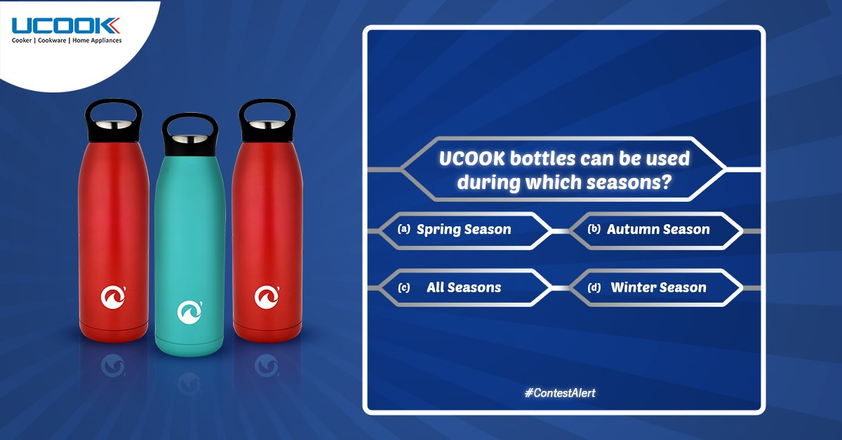 #UCOOK is back with another amazing contest! Guess the correct option and leave your answer in the comments below!  Participate now, and don't forget to tag your friends and family!   #UmmeedSeZyada #Contest #ContestAlert #Giveaway #UCOOKCookware https://t.co/O4WViQElik