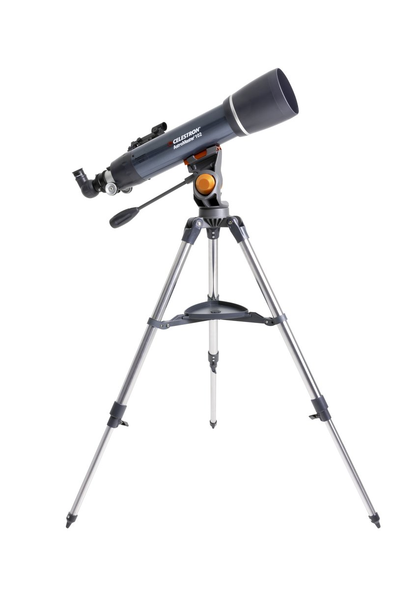 #Celestron #astromaster 102AZ in stock ready to ship. One of the most versatile #telescopes for #astronomy and terrestrial use. #DSLR adaptable to make it a 102mm f4.9 telephoto lens. #NorthernOptics #Lincolnshire #shoplocal #stargazing    https://t.co/cVYtblBSwC https://t.co/MRO51krTEa