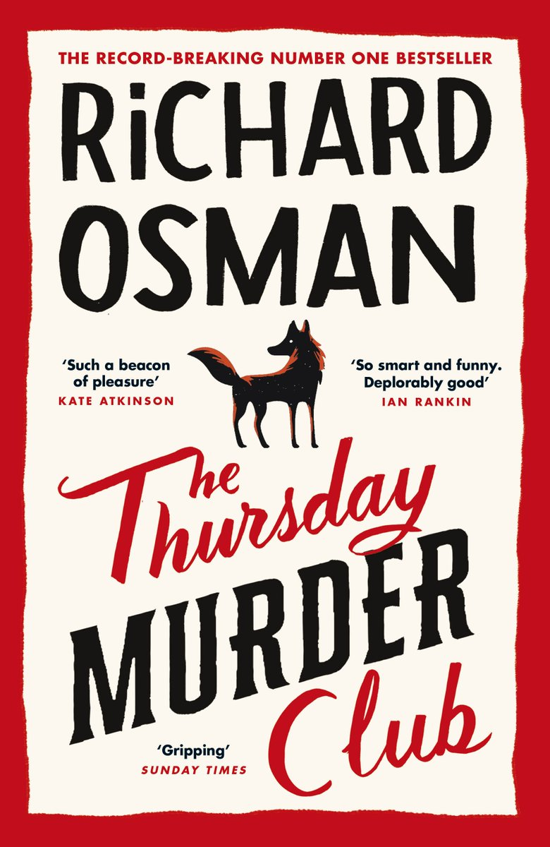 Back again, @richardosman keeps racking up the #1's, as The Thursday Murder Club returns to the UK Official Top 50 number one spot! More here: https://t.co/RMGzh16lqf (£) https://t.co/cAOKOs7p1l