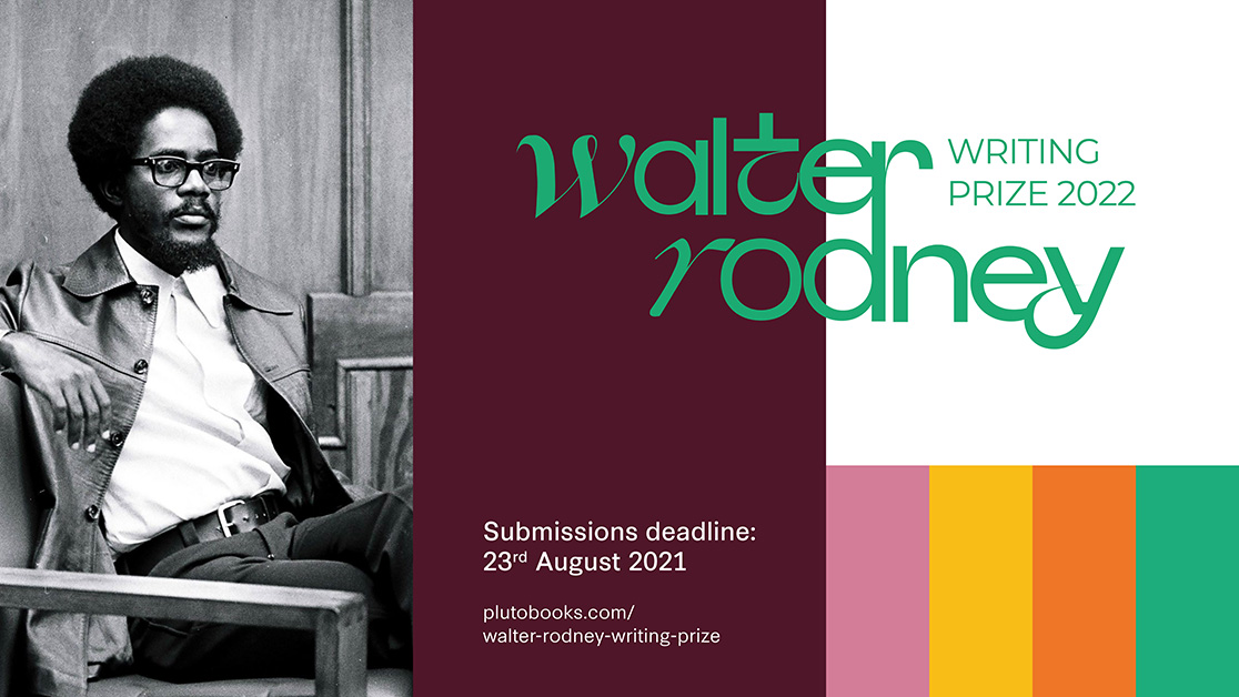 Applications are still open for the Walter Rodney Writing Prize!   Our incredible judges are Poet, reggae icon and activist Linton Kwesi Johnson, activist and historian Stella Dadzie and feminist and academic Dzodzi Tsikata.  Find out more: https://t.co/M3ily9GIbK   Good Luck! https://t.co/8US0RwVs9T