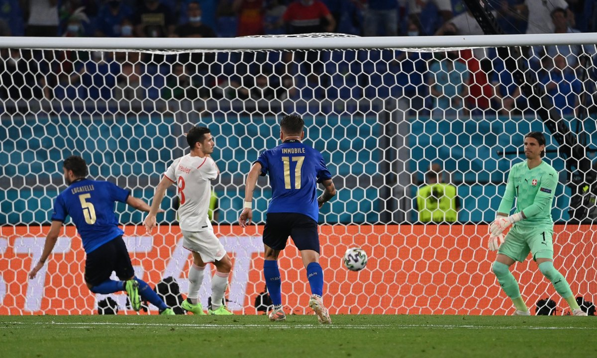 ITALY SECURE EURO KNOCKOUT STAGE SPOT