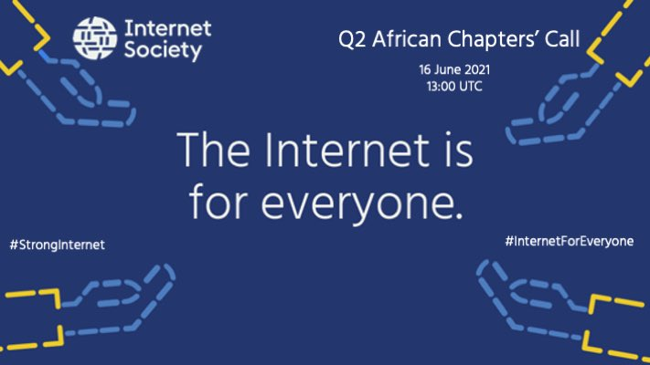 It was nice to have @Dawit_bekele, @JoeBeOne, @jdogniez, @isocsenegal, @isocngchapter @ISOC_Liberia, …and 100+ members of @ISOC_Community of chapters in #Africa to discuss our Q2 updates with a focus on #StrongInternet.   Our commitment to the #Internet is stronger than ever! https://t.co/IVwiMDmpf0