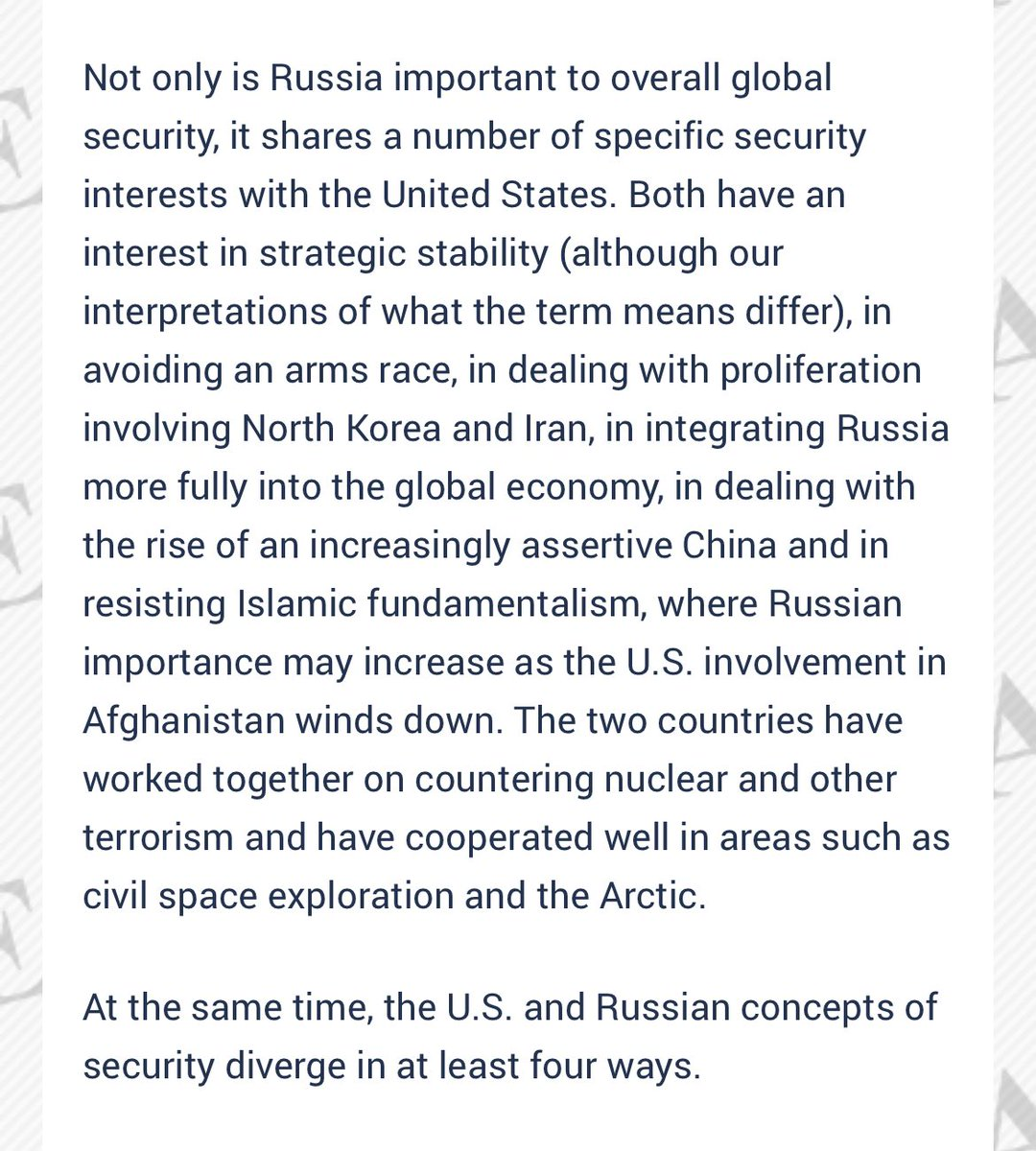 In our discussion @peacock anchored by @mehdirhasan, I mentioned this study we did at the ISAB after Putin invaded Ukraine. We detailed how we had to resist Russian moves but continue to cooperate on key issues. Still operative today.  https://t.co/Bk7yn0HsBp https://t.co/q3AnjjyPNP