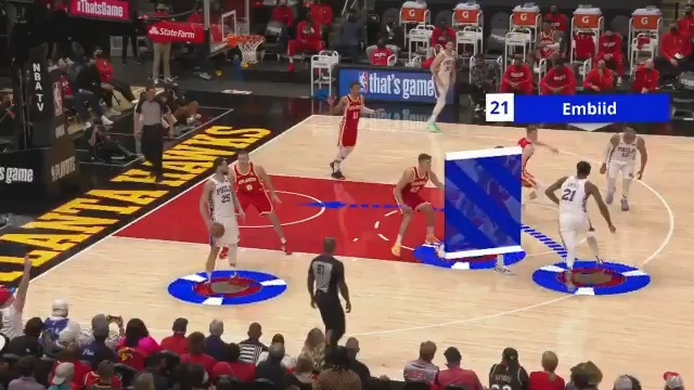 Setting up with Ben Simmons in the post and Seth Curry screening, the @sixers unlock their offense in several ways! #NBABreakdown  Hawks (2-2) 76ers Game 5 tonight at 7:30pm/et on TNT. #NBAPlayoffs https://t.co/azuUKL8CAr