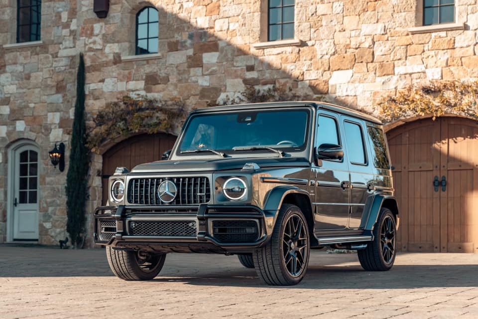 Cross-country or cross-town, the @MercedesBenz  G-Wagon won't let you down. https://t.co/H23YqGgDgM