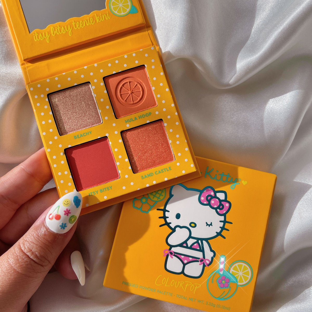 tropical yumminess!!! ✨🍍🍰 what palettes from the *NEW* Hello Kitty x ColourPop collection are your new summer besties? 👇  The @hellokitty Tropical Escape Collection launches 6/17 💫  IG | lapetitechicmommy #HelloKittyXColourPop https://t.co/nfhzrNsLtL