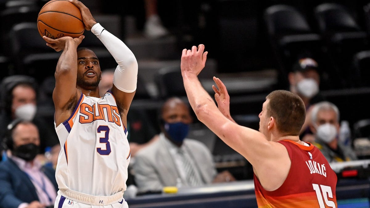 Phoenix Suns' Guard Chris Paul Out Indefinitely Due to NBA's COVID-19 Health and Safety Protocols https://t.co/i9ixpDTy5Y https://t.co/jBMAHLQy0n