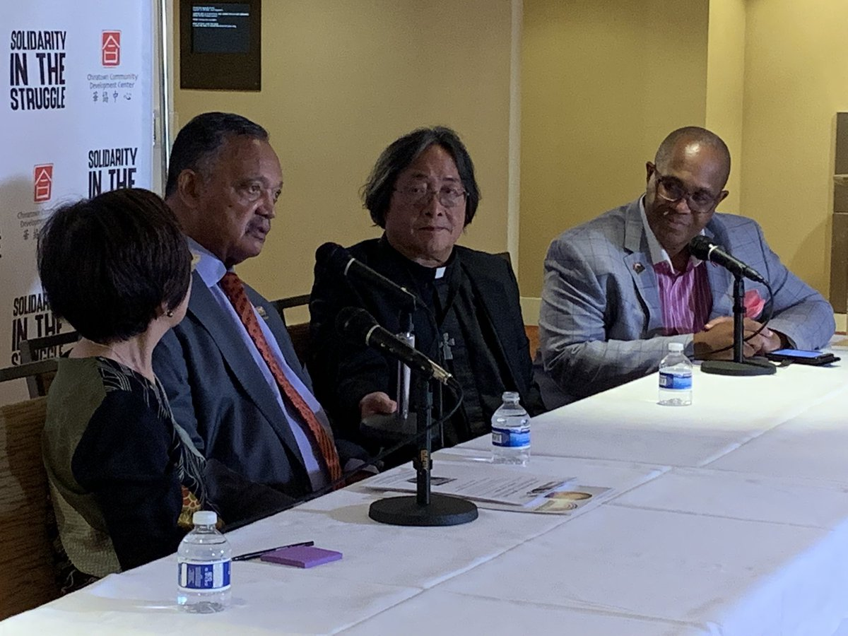 Reverend Jesse Jackson is in SF visiting Chinatown for a few days standing in solidarity with the #AAPI community @nbcbayarea #jessejackson https://t.co/WF2XXw2f4x