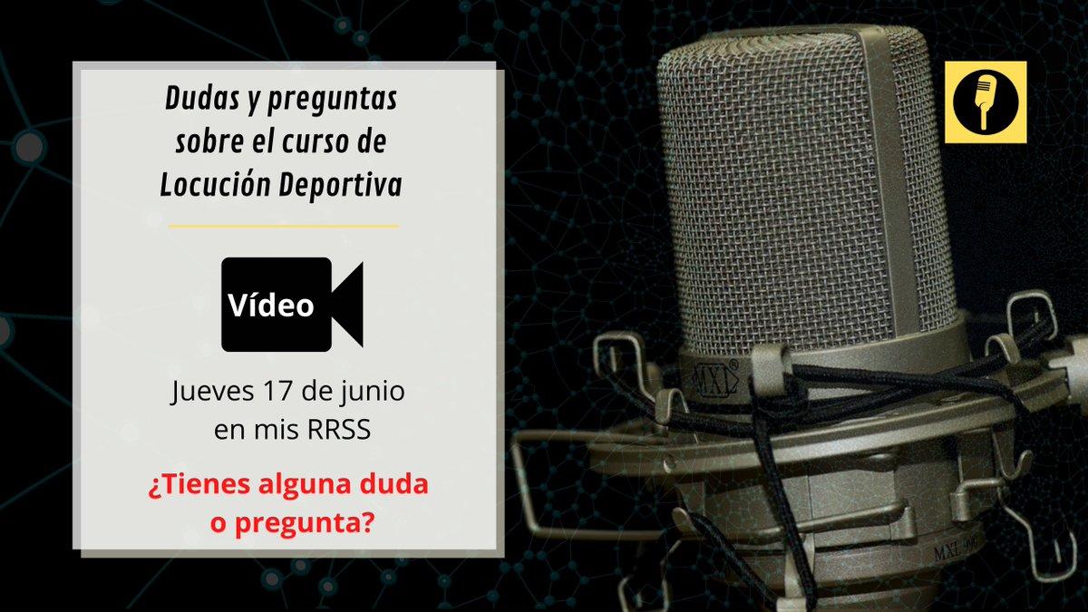 🚨 ¡ATENCIÓN, ATENCIÓN! 🚨📹Este jueves 17 de junio voy a subir un vídeo a mis RRSS pa....