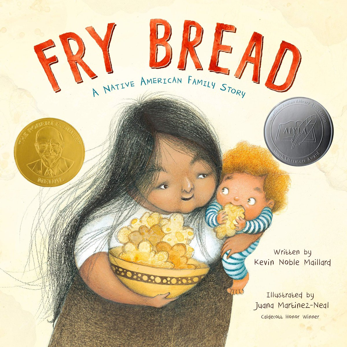 """inspired by """"Fry Bread"""", I made it. It came out delicious, although not as expertly round as the Native Americans can make it. Being an Asian India myself this book and even the cooking resonates with me so much!  #kidlit #writingcommmunity #authorlife #amreading #PictureBooks https://t.co/VaC39iuKlT"""