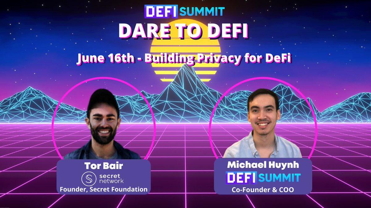 Tweet by @Defi_Summit