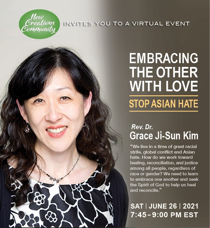 """honored to be invited to speak: """"Embracing the Other with Love: #StopAsianHate""""  #AAPI experience hate in all areas of society & we need to stop this racism & discrimination towards our community.  I explore this in my book #Invisible.   https://t.co/KZv1l2J79C  #StopAAPIHate https://t.co/jf6POMxLiT"""