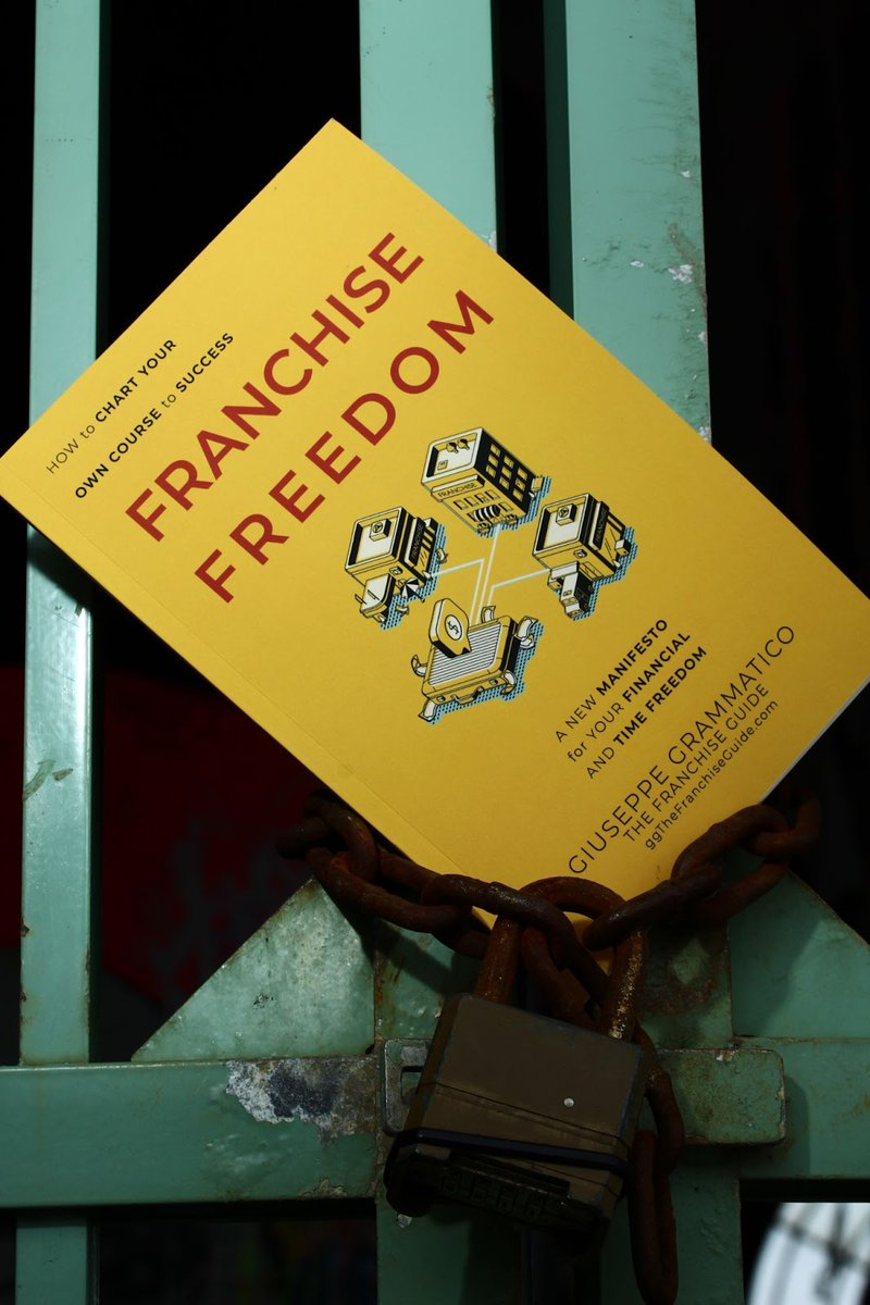 """Unlock your financial freedom today by getting your hands on a copy of my book, """"Franchise Freedom""""! (Available on Amazon Kindle as well as paperback.*) https://t.co/FI3sf8hKl4 #authorsoftwitter #franchising #franchisee #authorlife #asburypark https://t.co/4yo2GJVKpe"""
